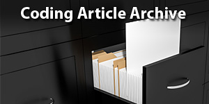 Coding Article Archive