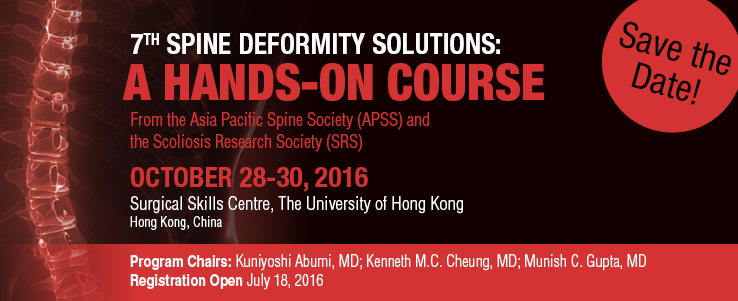 7th Spine Deformity Solution Course